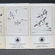 Churchill Ettinger Art Monthly Advertising Pocket Calendars