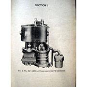 Vintage Railroad Instruction Manual  - Santa Fe Instruction for Air Brake Equipment