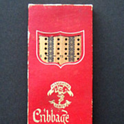 Vintage Cribbage Board by Pacific Games