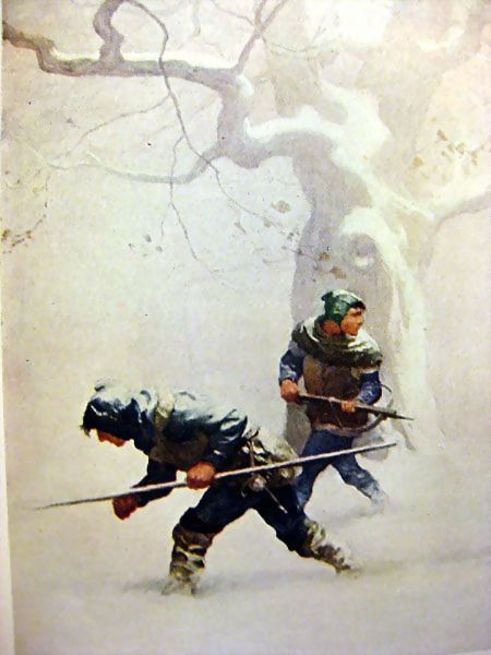 The Black Arrow - Illustrated by NC Wyeth from openslate