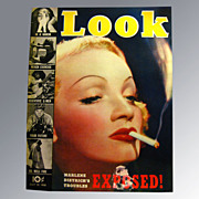 Look Magazine July 1938 Vintage Periodical