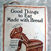 SOLD Rare Vintage Fleischmann Bread Recipe Booklet 1914
