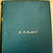 Vintage Book - The Friendships of Mary Russell Mitford 1882