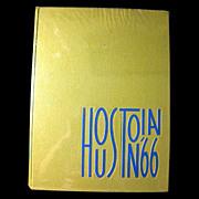 SOLD 1966 Houstonian Yearbook Houston Texas