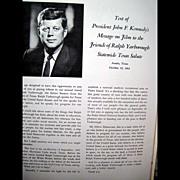 Vintage Political Ephemera - Texas Salute to United States Senator Ralph W. Yarborough -- Amaz