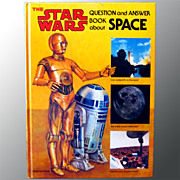 Star Wars Question and Answer Book About Space Vintage Science Book with R2D2 and C3PO ...