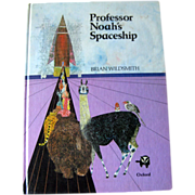 Professor Noah's Spaceship First Edition / Collectible Book / Brian Wildsmith / Color ...