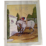 Vintage Life Magazine A D Blashfield Cover February 26 1914 / Turn of The Century Magazine ...