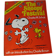 The Snoopy Festival Vintage Book / Snoopy / Charlie Brown / Charles Schultz / Animation / ...