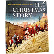 SOLD The Christmas Story - Metropolitan Museum of Art / Vintage Chirstmas Book / Gift Book / A