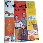 McCalls Needlework Magazine Fall Winter 1959 / Knitting / Crochet / Home Arts / Craft / Patter