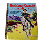 Hopalong Cassidy and the Bar 20 Cowboy Little Golden Book / Western Book / Childrens Book / LG