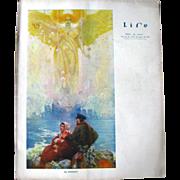 Vintage Life Magazine Edward A Wilson Cover December 18 1913 / Turn of The Century Magazine ..