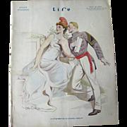 Vintage Life Magazine Otho Cushing Cover November 20 1913 / Army / Advertising / Automotive /