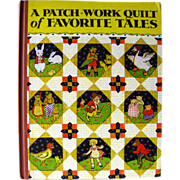 A Patch Work Quilt of Favorite Tales / Little Black Sambo / Illustrated Childrens Book / Gift