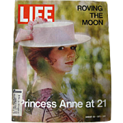 Vintage Life Magazine August 1971 / Princess Anne at 21 Photographic Cover / Vintage ...