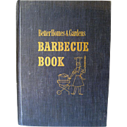 Better Homes And Gardens Barbecue Book 1956 / Entertainment / Outdoor Cooking / Grilling / ...