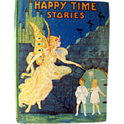 Happy Time Animal Crackers Vintage Childrens Book Illustrated by Fern Bisel Peat 1930s / ...