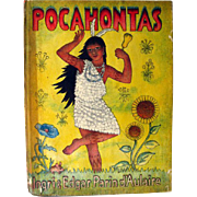 Pocahontas by Ingri and Edgar Parin d Aulaire / Illustrated Childrens Book / Gift Book / Histo