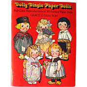 Dolly Dingle Paper Dolls by Grace G Drayton / Womens Magazine Paper Dolls / Gift Book / ...