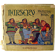 SOLD Nursery Painting Book 1914 Childrens Book / Vintage Art Book / Childrens Art