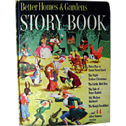 Better Homes And Gardens Story Book 1950 / Little Black Sambo / Illustrated Childrens Book / G