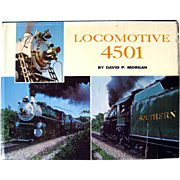 Locomotive 4501 Railroad History Book / Railroadania Collectible / Steam Engine Restoration