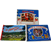 Souvenir Post Card Books Land of Makebelieve North Pole and The Frontier Town / Photograph Boo