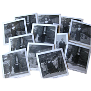 Nuns Ordination Photographs Black and White 14 1960s / Nun Taking Vows /Vintage Ephemera / Scr