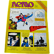 Nemo Classic Comics Library Vintage Magazine Superman Edition Number 2 August 1983 / Superman