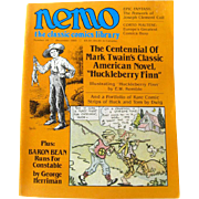 Nemo Classic Comics Library Vintage Magazine Huckleberry Finn Edition Number 16 December 1985