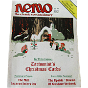 Nemo Classic Comics Library Vintage Magazine Christmas Edition Number 10 December 1984 / ...