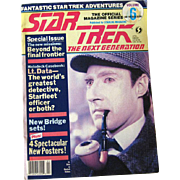 Star Trek The Next Generation Official Magazine Volume 6 April 1989 / Science Fiction Magazine