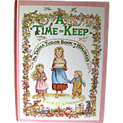 A Time To Keep The Tasha Tudor Book Of Holidays / Childrens Book / Holiday Book / Saalfield ..