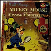 SALE 50% OFF Mickey Mouse and the Missing Mouseketeers -- LGB