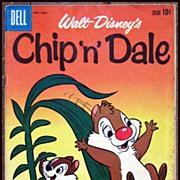 SALE Dell Comics -- Walt Disney Production Chip 'n' Dale Comic #23 1960