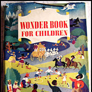 SALE The Wonder Book For Children -- Vintage Children's Book
