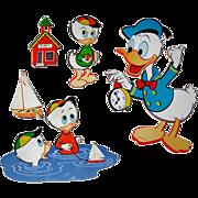 Vintage Donald Duck Nursery Wall Hanging / Baby Decor / Nursery Decor / Walt Disney
