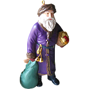 Merry Olde Santa Hallmark Keepsake Ornament Collectors Edition Number 6 / Christmas Ornament /