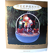 SOLD Home On The Range Musical Motion Lighted Hallmark Keepsake Ornament / Christmas Ornament