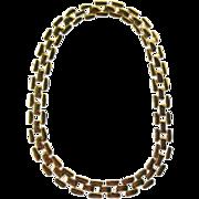 Napier Woven Link Necklace