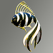 Fancy Fish Pin