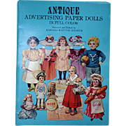 Paper Dolls From Antique Advertising In Full Color / Advertising Cards / Gift Book / Vintage .