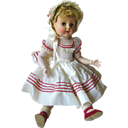 Madeline Madame Alexander 18 Inch Ball Jointed Doll In Original Clothes / Articulated Arms and