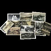 Photographic Postcards Destash Lot 11 Post Cards / Vintage Postcards / Vintage Ephemera / Phot