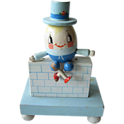 Vintage Humpty Dumpy Night Light / Baby Nursery / Nursery Plastics / Baby Shower