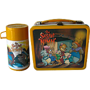Vintage The Secret of NIMH Metal Lunch Box With Thermos Pristine by Aladdin 1982 / RETRO ...