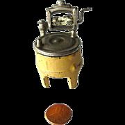 Kilgore Cast Iron Washing Machine with Ringer / Miniature Cast Iron Dollhouse / Dollhouse Mini