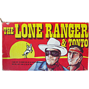 The Lone Ranger and Tonto Game by Warren Paper Products 1978 / Vintage Board Game / Television