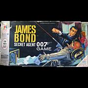 James Bond Secret Agent 007 Board Game by Milton Bradley / Vintage Spy Game / 1960s Board ...